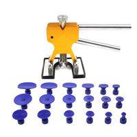 18 Tabs Universal Car Dent Repair Puller Kit Hail Removal Tool Car Body Paintless Dent Lifter Repair Tool for Car Motorcycle