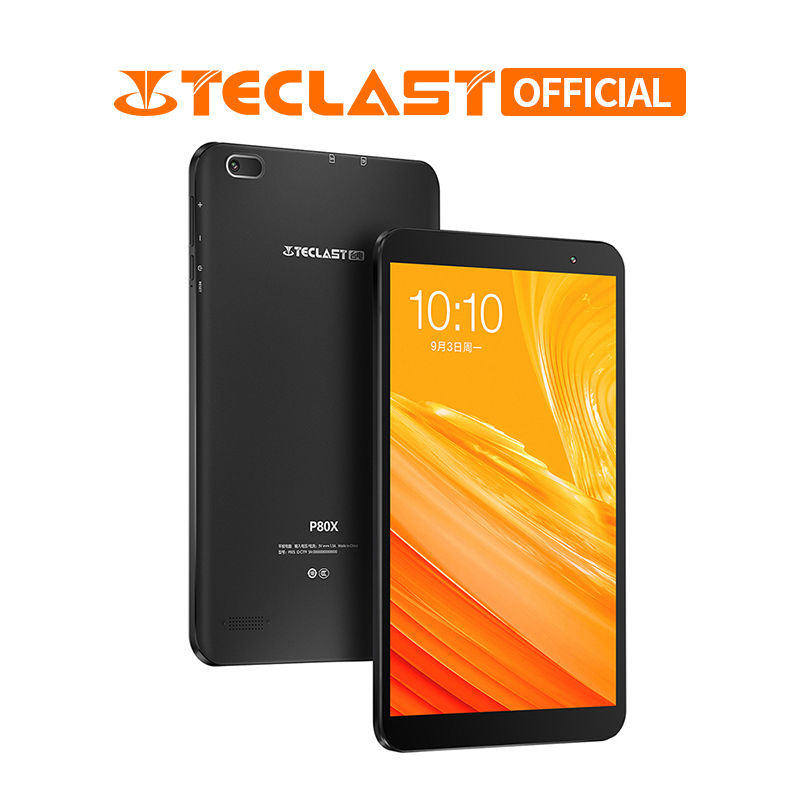 Teclast P80X 4G Phablet Android 9.0 Tablets 8 Inch 1280 X 800 Tablet PC SC9863A Octa Core 2GB RAM 32GB ROM GPS Dual Camera