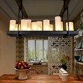Светодиодная Люстра для гостиной  Подвесная лампа для столовой  декоративная лампа для спальни  промышленные подвесные светильники в стиле...