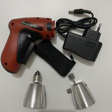 KLOM Cordless Electric gun ślusarz do naprawy drzwi otwórz zaawansowany zamek elektryczny pistolet do otwierania zamków