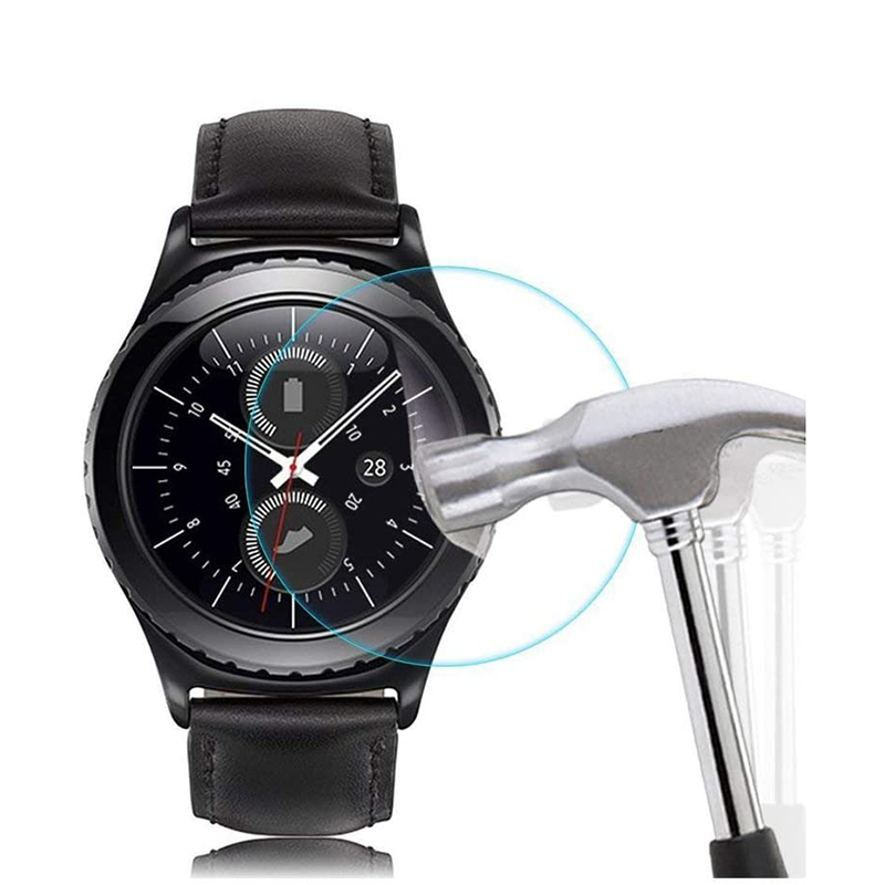9H Hardness 2.5D Arc Edge Tempered Glass Screen Protector For Samsung Gear S2 S3 S4 Gear 2 Premium Film For Galaxy 46mm 42mm