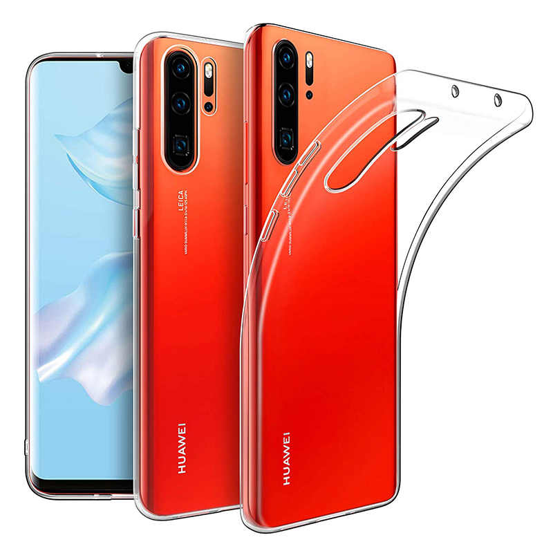 Transparent Case TPU for Huawei P30/P30 Pro/P30 Lite Soft Silicon Cover Thin Clear Phone Back Armor P30Pro P30Lite HuaweiP30 Gel