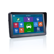 Oriana 7inch Sunshade 8G 256MB Capacitive Car GPS Navigation navigator Bluetooth Europe Free Map Vehicle gps Truck map cheap 800x480 FM Transmitter MP3 MP4 Players Touch Screen Vehicle GPS Units Equipment Built in 8GB Russian French Spanish Italian Portuguese Greece