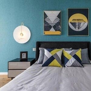 Image 4 - Zerouno Новый мраморный настенный светильник для комнаты 16 см 25 см светодиодный настенный светильник s черный золотой промышленный Современный Мраморный Настенный светильник светильники