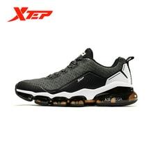 Xtep AIR MEGA Men Running Shoes Autumn Winter Air Cushion Breathable Sh