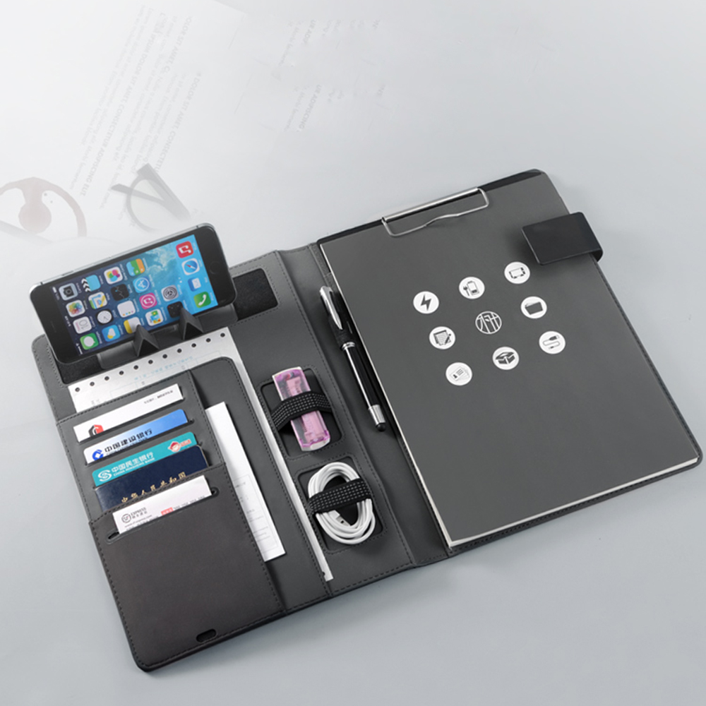 A4 Multi-function Folder Business Fabric Folder Creative Sales Negotiation Contract Contraction