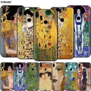 Мягкий ТПУ чехол YIMAOC Gustav Klimt для Xiaomi Redmi mi Note MAX 3 6 6A 7 mi6 mi8 9 se a1 a2 Pro Lite go pocophone f1