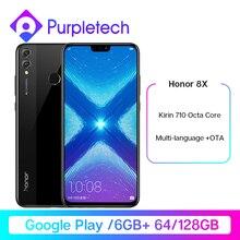 Gloogle Play Honor 8X 8 X Smartphone 6G RAM 64G/128G Goolge Play Kirin 710 Octa Core 6.5''20MP Dual