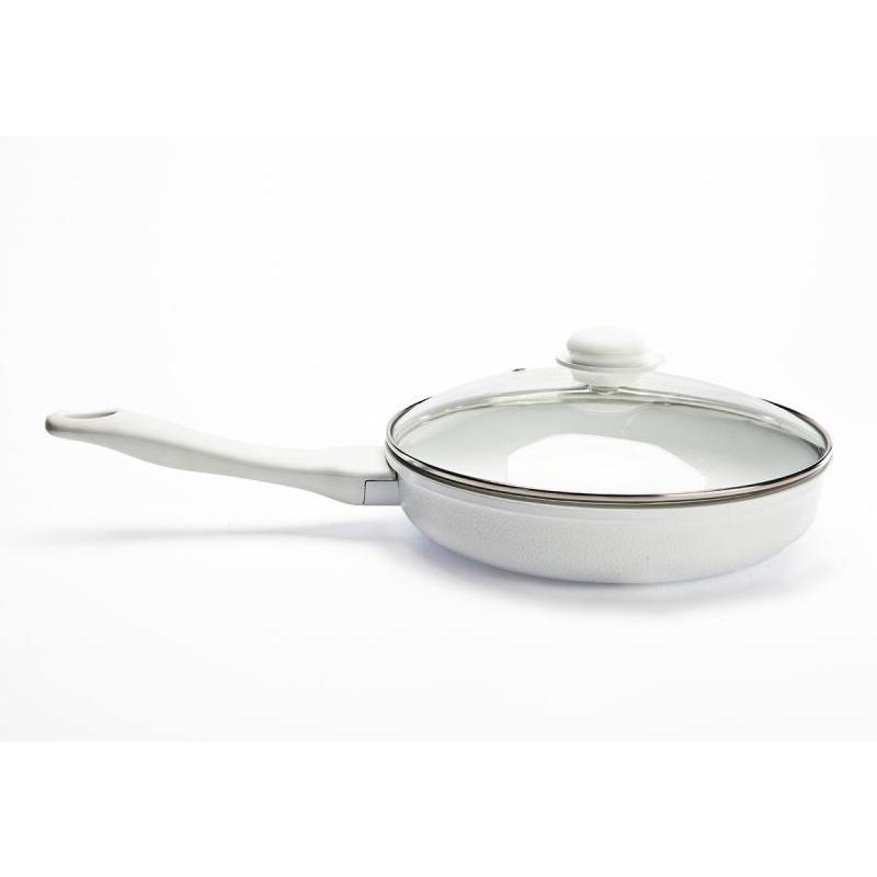 Poêle à frire avec revêtement en céramique et #171-грнан & #187