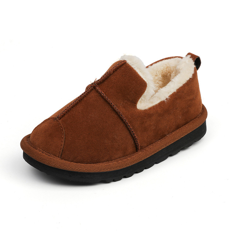 KushyShoo Children's Cotton Shoes Korean Thickened Velvet Snow Boots Kids Student Toddler Boots Winter Boots for Girls|Boots| |  - title=