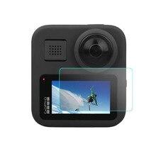 خفف شاشة زجاجية LCD واقي للشاشة حافظة لهاتف GoPro Max Black Go pro Action كاميرا رياضية طبقة رقيقة واقية إكسسوار
