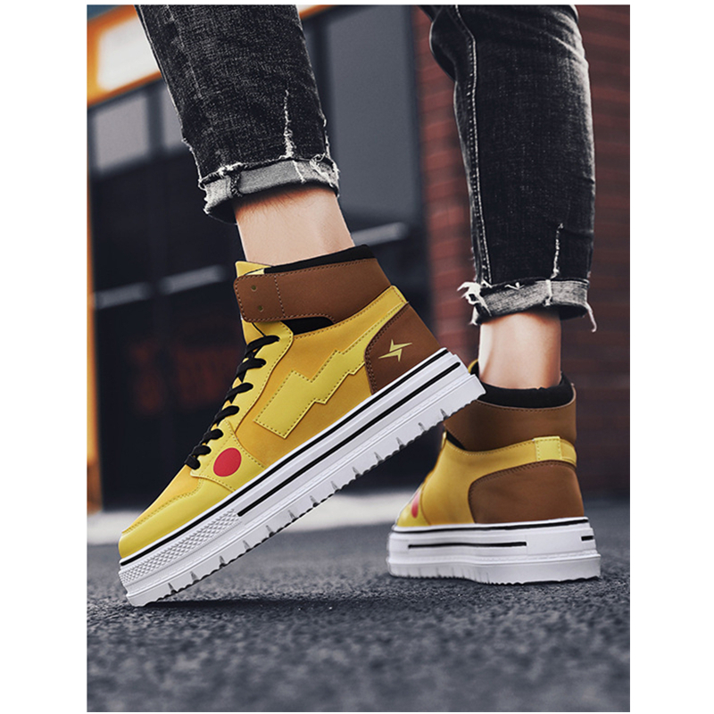 Classic Men's Fashion Casual Shoes High Top Sneaker 2019 Spring New Men Shoes High Quality Non slip Walking Shoe Zapatillas - 3