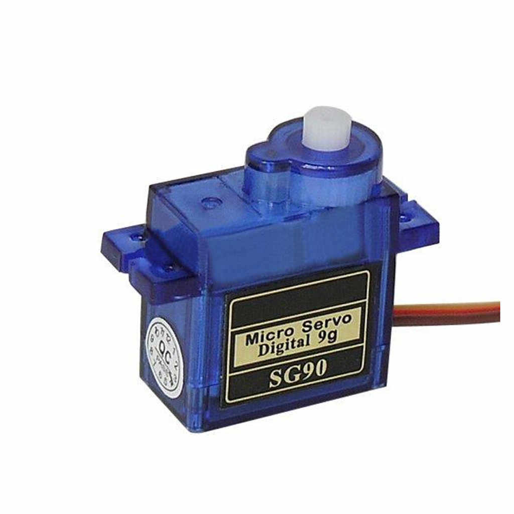 HIINST 1pcs 100% NEW SG90 9G Micro Servo Motor For Robot 6CH RC Helicopter Airplane Controls for Arduino Remote control toy Acce