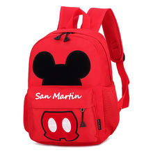 Hot Fashion Kids Cartoon Mickey Schoolbag Baby Bags Backpack For Children Girls Boys Kindergarten Backpacks  S,L