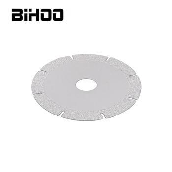 цена на 1Pc 100mm Brazing Diamond Saw Blade Diamond Cutting Disc Grinding Wheel for Glass Marble Jade Ceramic Slate