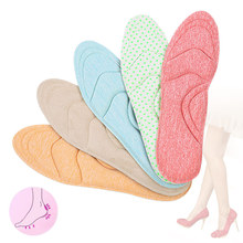 eva sport orthotic insoles arch support orthopedic insoles correction o x leg shoe pad foot pain relief insole for shoes 4D Flock Memory Foam Orthotic Insole Arch Support Orthopedic Insoles For Shoes Flat Foot Feet Care Sole Shoe Orthopedic Pads