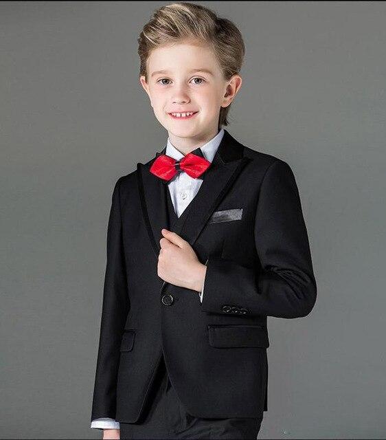 Детские повседневные блейзеры; костюм для маленьких мальчиков; черное Детское пальто; модная детская куртка; костюм для мальчиков; костюм н