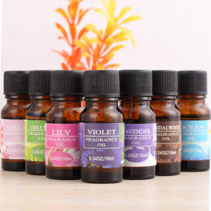 Essential-Oil Lamp Humidifier Fragrance Flower Lavender Stress-Relief Fruit Water-Soluble