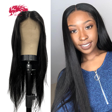 Ali Queen Hair Brazilian Human Hair Wigs For Woman T Part Wig With Middle Part 10