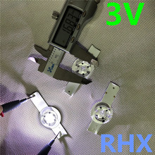 30 개/몫 3V SMD 램프 구슬 W/광학 렌즈 Fliter 32 65 인치 LED TV 수리 도구 100% 새로운