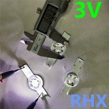 30 Pezzi/lottp 3V Smd Perline Lampada W/Ottica Lens Fliter per 32 65 Pollici Tv Led di Riparazione strumento di 100% Nuovi