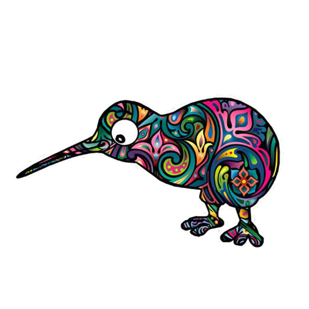 Dawasaru Новая Зеландия киви птица Цвет персонализированные наклейки для автомобиля наклейка для ноутбука мото авто аксессуары для украшения ...