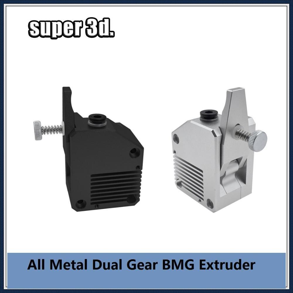 Цельнометаллический экструдер BMG с двойной передачей, экструдер с прямым/левым боуденом для Mk8 CR10 Ender 3/5 Pro Anet a8 E10 Anycubic i3 meega 3d принтера