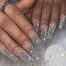 Glitter pixie unhas de cristal micro contas multicolorido ab 3d arte do prego strass decorações manicure acessórios