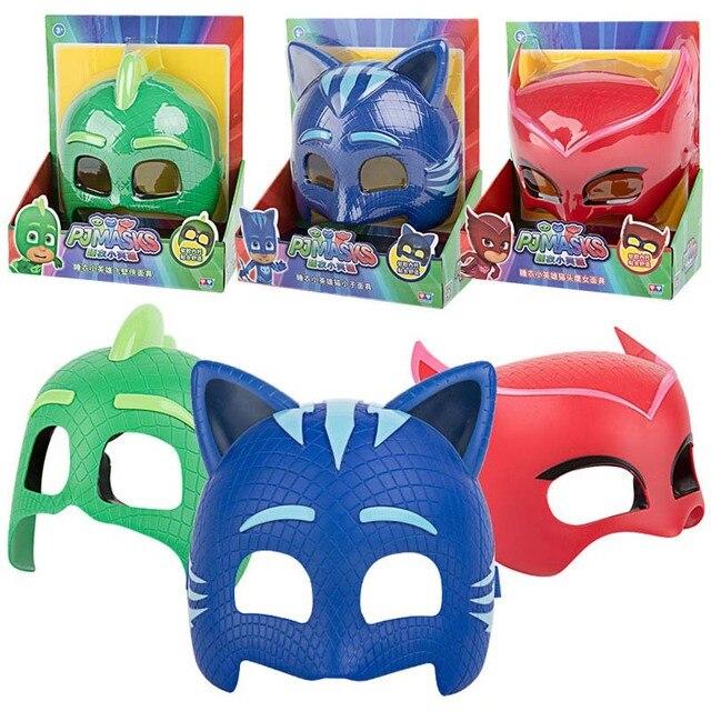 pj mask Doll model masks three different color masks Catboy Owlette Gekko Figures Anime Outdoor Funny Kids Toys for Children S57