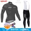 Inverno velo térmico 2020 strava ciclismo jérsei longo conjunto mtb roupas de ciclo roupas esportivas mountain bike ropa ciclismo 15