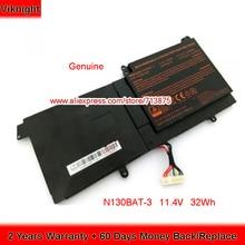 Battery Clevo N130BAT-3 for N130bu/N131wu/Np3130/.. 32wh Genuine