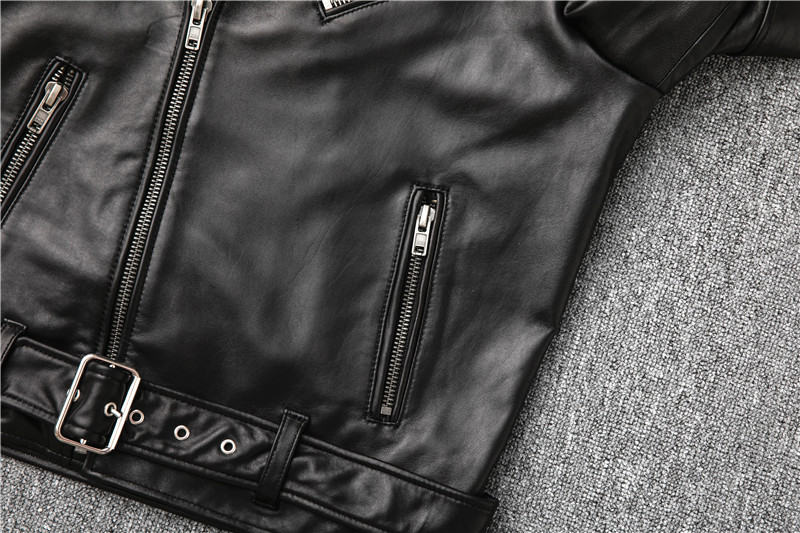 Hcf4415c9f0c04807906ee6a7c34cf3d9b Free shipping,Sales!Brand new genuine leather jacket.mens motor biker sheepskin coat.slim plus size jackets.leather outwear