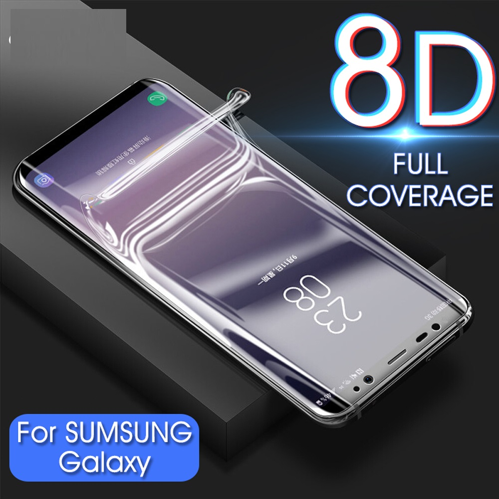 Clear Hydrogel Film Full Cover For <font><b>Samsung</b></font> Galaxy Note 2 <font><b>3</b></font> 4 5 neo For Galaxy N7100 N9000 N9100 N9200 Screen Protector Not <font><b>Glass</b></font> image
