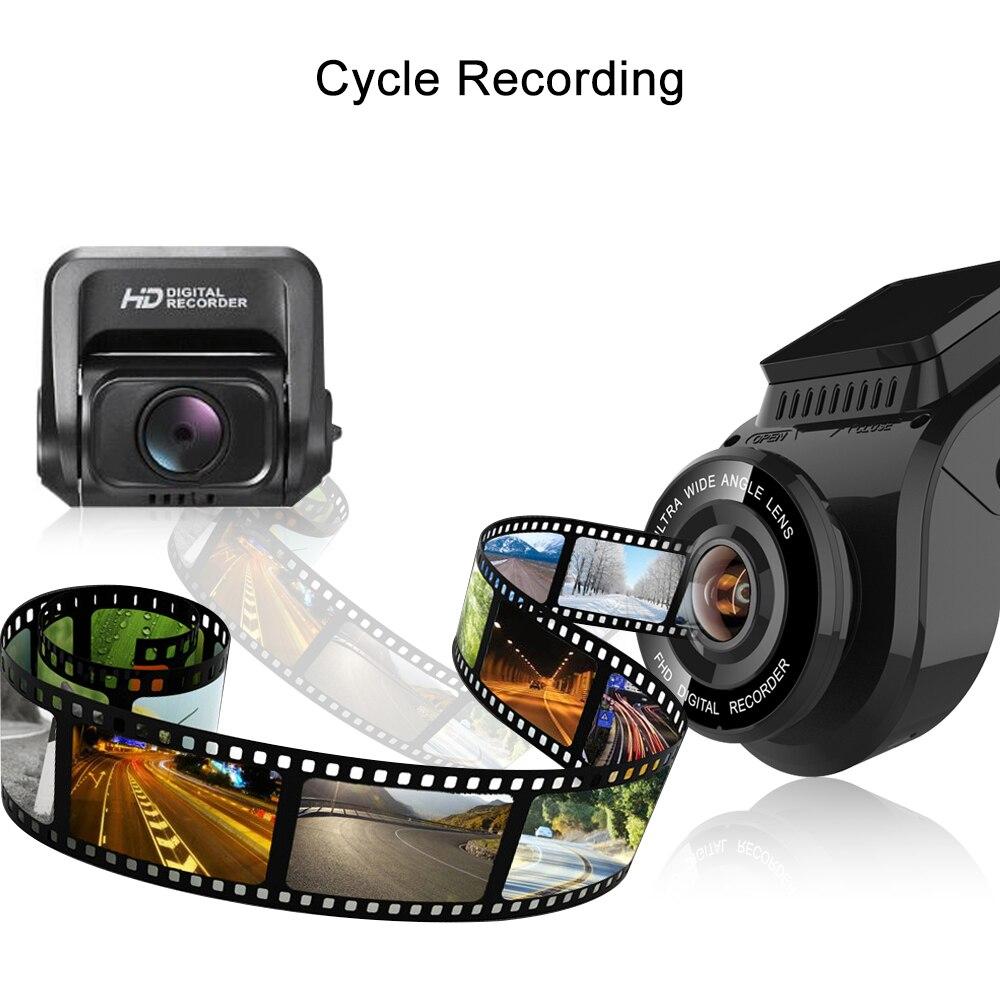 Bluavido 4K 2160P Dash cam with 1080P Rear Camera GPS logger ADAS IMAX323 sensor car Video Recorder Novatek96663 Nightvision DVR - 6