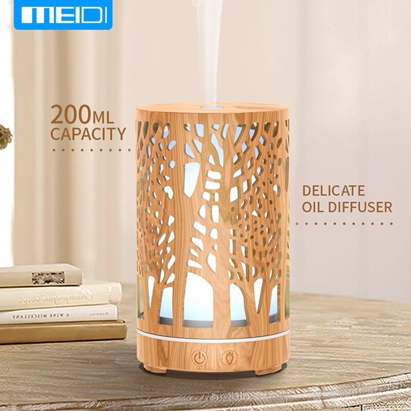 MEIDI Essential oil Aromatherapy machine Air freshener for car home office aroma diffuser 200ML Car air freshener Perfume