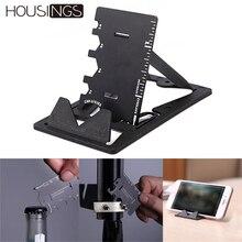 Mobil telefon tutucu Standı Mini Metal Çok Fonksiyonlu Manyetik Parmak Tutucu iPhone XR Braketi Aksesuarları Taşınabilir Anahtarlık