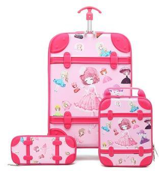 3D dzieci na kółkach plecak do szkoły walizka podróżna na kółkach dzieci bagaż podróżny walizka Mochila dzieci torby na kółkach z kółkami tanie i dobre opinie ZIRANYU zipper 1 8kg W stylu rysunkowym Damsko-męskie 43cm plecaki do szkoły