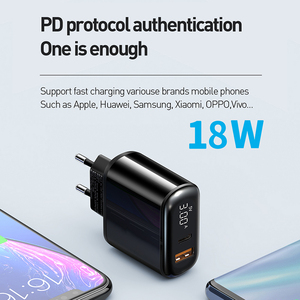 Image 4 - Mcdodo Digital Display QC3.0 USB Charger 18W PD 3.0 Fast Charge for iPhone 11 Pro SCP AFC Phone Charger Type C Macbook Tablet 6