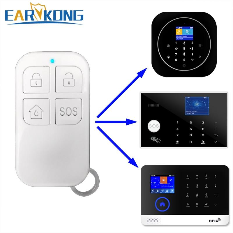433MHz Wireless Remote Controller Big Button For G4 / G30 / PG-103 / W2B / W123 Wifi Alarm System Home Burglar Alarm System