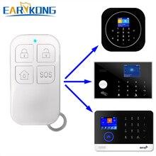 Control remoto inalámbrico de 433MHz botón grande para G4/PG-103/W2B/W123 sistema de alarma Wifi sistema de alarma antirrobo para el hogar