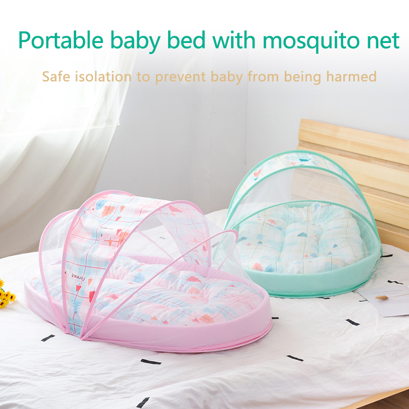 Portable Foldable Multifunctionb Mosquito Nets For Infants Baby Crib Netting Baby Bed Mosquito Nets