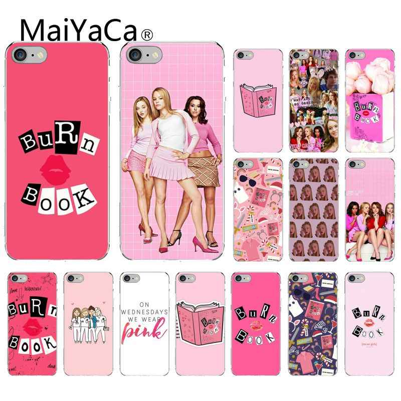 Maiyaca Burn Book Mean Girls Kiss Diy Printing Drawing Phone Case