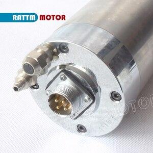 Image 4 - DE 2.2KW ER20 raffreddato ad acqua motore mandrino 24000rpm 4 cuscinetti e 2.2KW VFD inverter 220V per il Router di CNC di fresatura per incidere macchina
