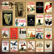 Guinness Is Good For You Metal Poster Tin Signs Vintage Wall Decor For Bar Pub Club Man Cave Decorative Plate YI-123