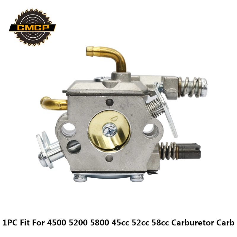 Chainsaw Carburetor Gasoline Chainsaw Spare Parts Fit KOMATSU 4500 5200 5800 45cc 52cc 58cc Gasoline Carburetor Carb