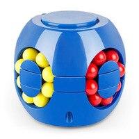 Poco mágico rotación Fidget Juguetes   Juguetes Fidget   Fidget juguetes cubo chico s juguete alivio del estrés para adultos y niños chico Cubo de alivio de estrés de dedo giroscopio