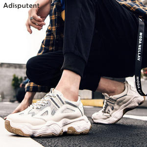 ADISPUTENT Vulcanize Shoes Sneakers Platform Casual Female Designer Thick Sole Dad Web-Celebrity