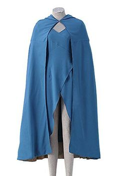 Game of Thrones V1Blue Cloak / Outfit for Queen of Meereen Daenerys Targaryen