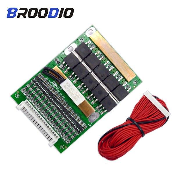 6 17S BMS 35A 50A 80A 120A 150A18650 LiFePo4 Batteria Al Litio Regolabile Balancer 72V Equilibrio Bordo di Protezione per il Motore Elettrico