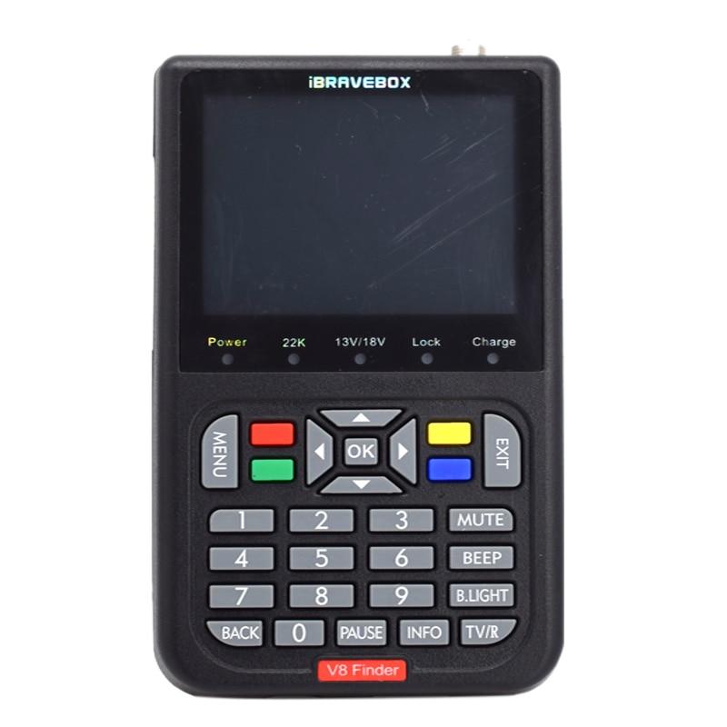 Ibravebox V8 Finder Hd Dvb S2 Цифровой спутниковый Finder высокой четкости Sat Finder Dvb S2 спутниковый метр 1080P (вилка США)